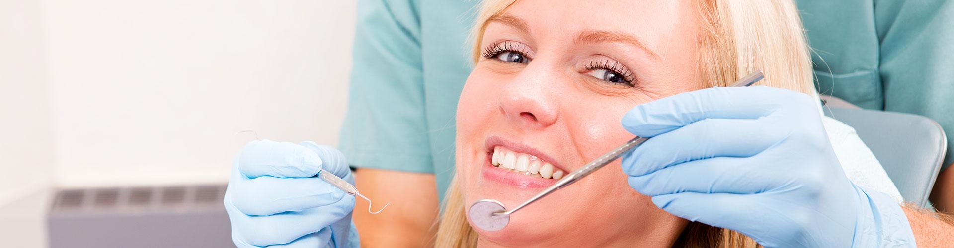 A woman having oral cancer treatments done at Bella Hanono Family Dentistry